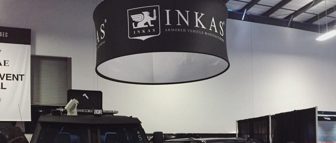 INKAS Armored Sentry APC at CANSEC