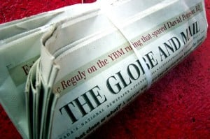 Globe & Mail Newspaper