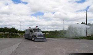 INKAS Armored Riot Control Vehicles