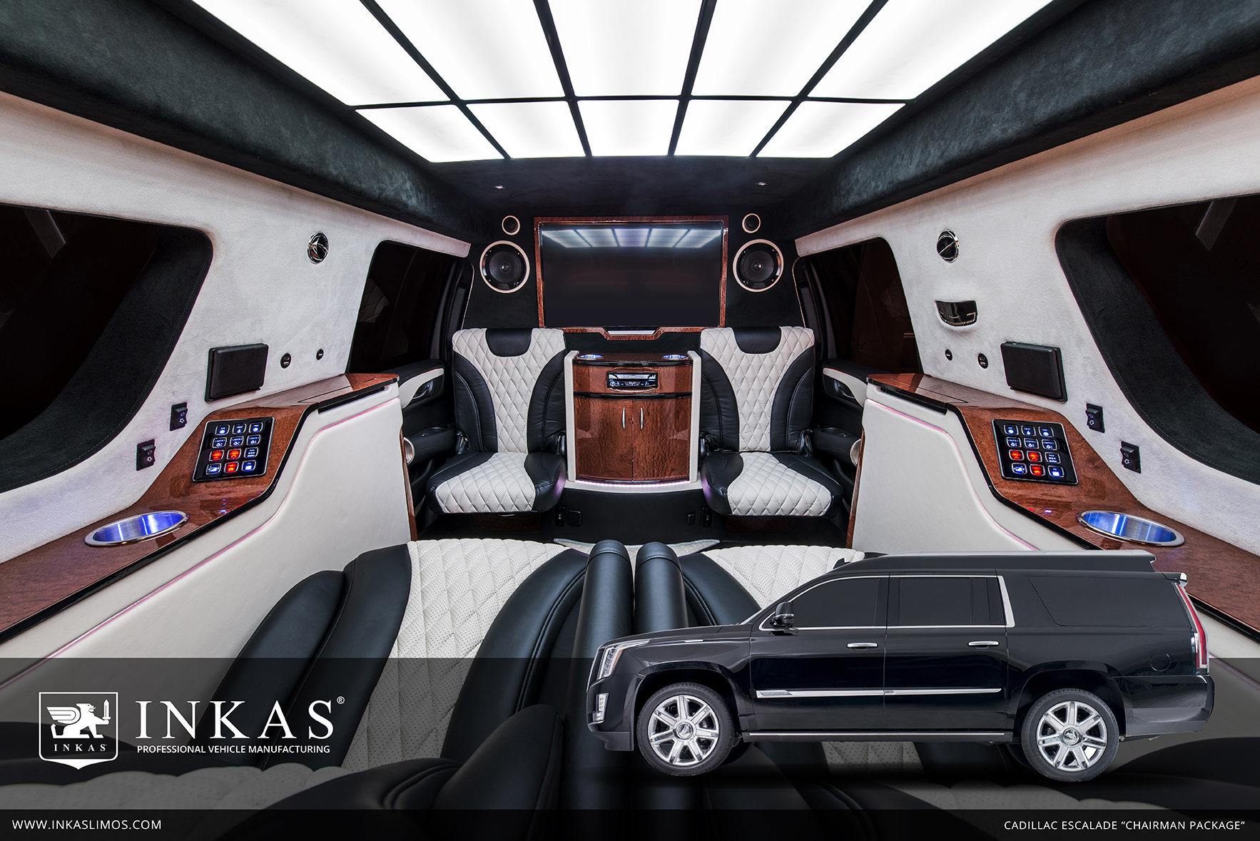 Inkas Cadillac Escalade Chairman Package Is Now Available Inkas