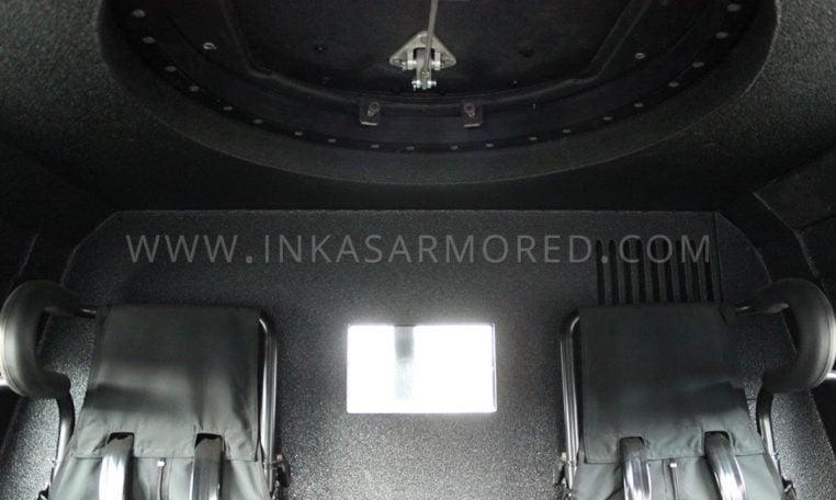 INKAS Sentry MPV back seat