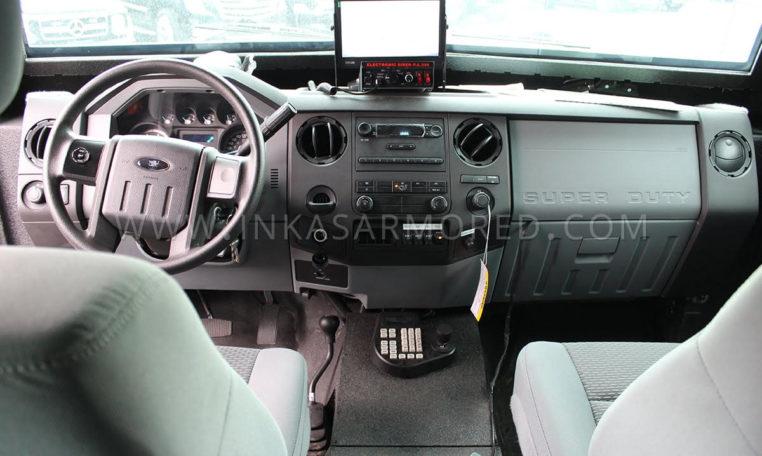 INKAS Sentry MPV driver seat