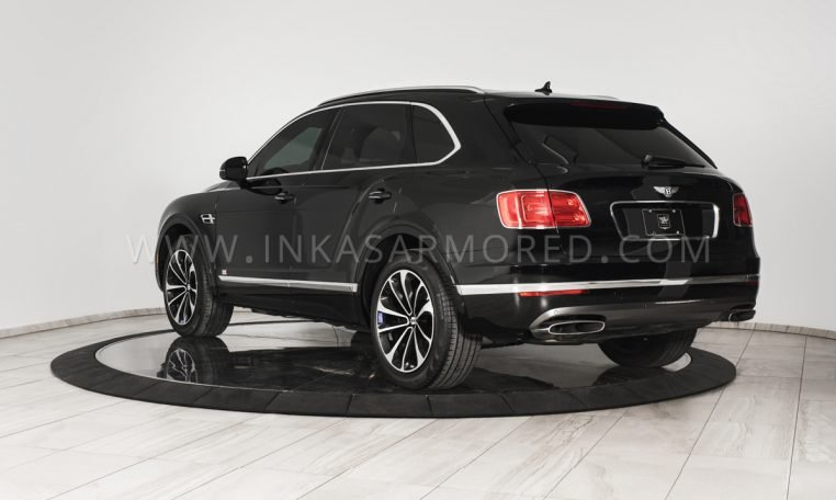 INKAS Bentley Bentayga