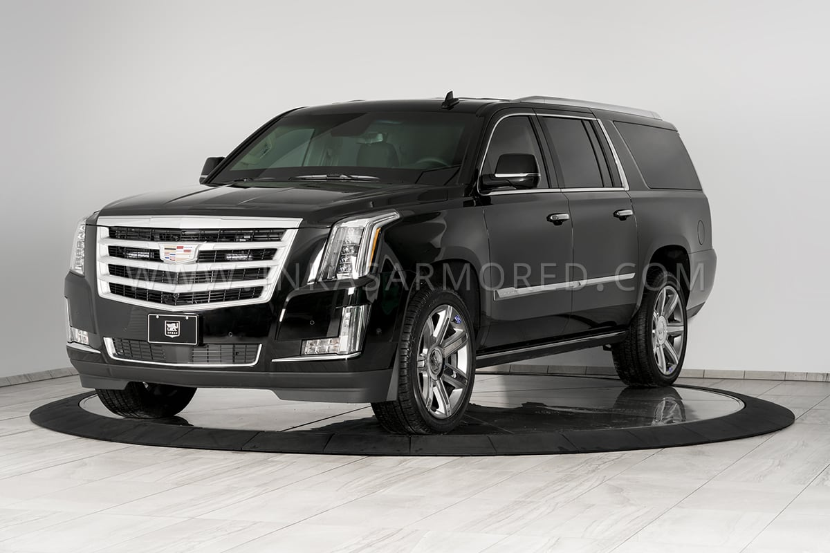 Bulletproof Cars: Armored Cadillac Escalade For Sale