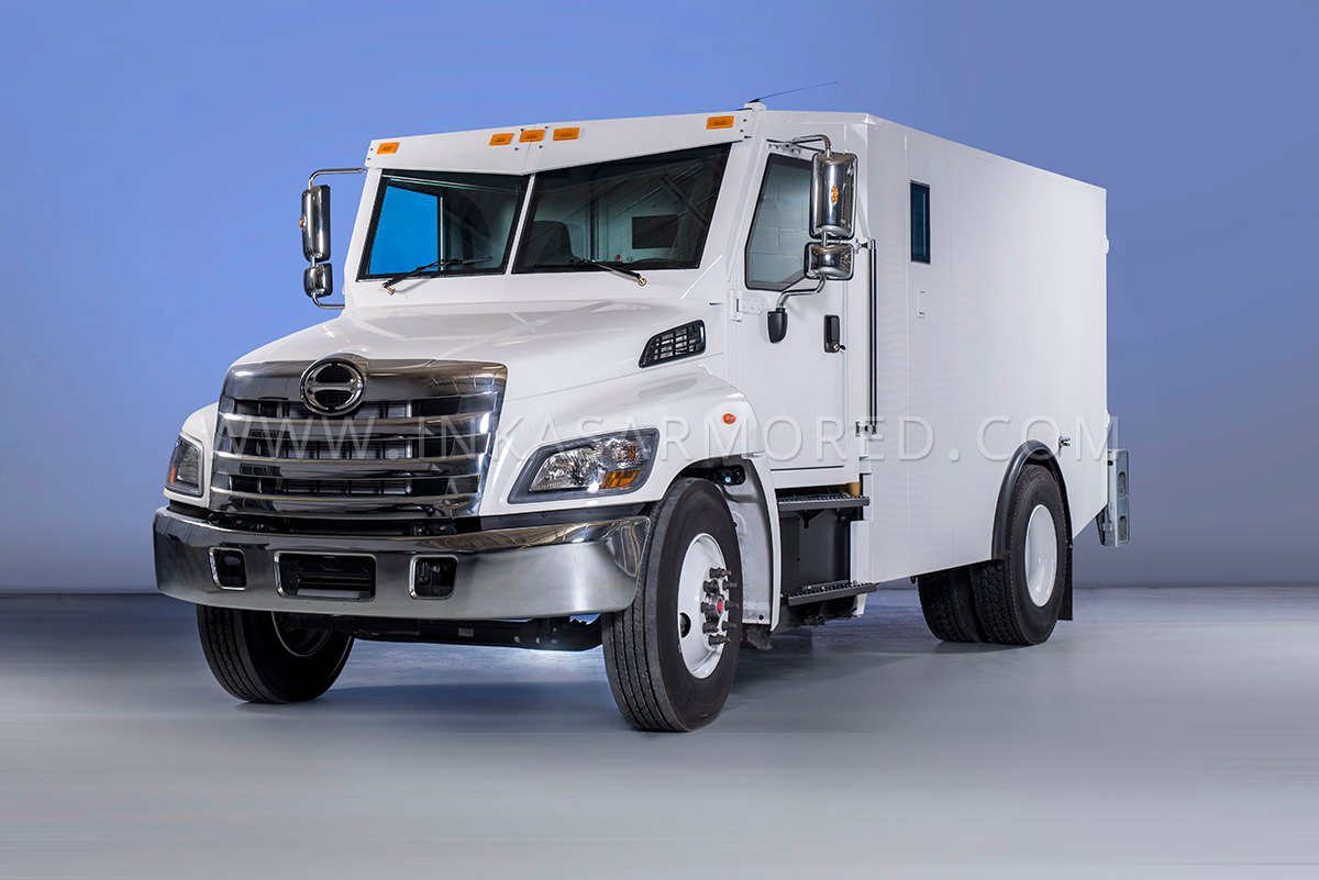 Hino 338 Cash In Transit Vehicle For Sale - INKAS Armored ...