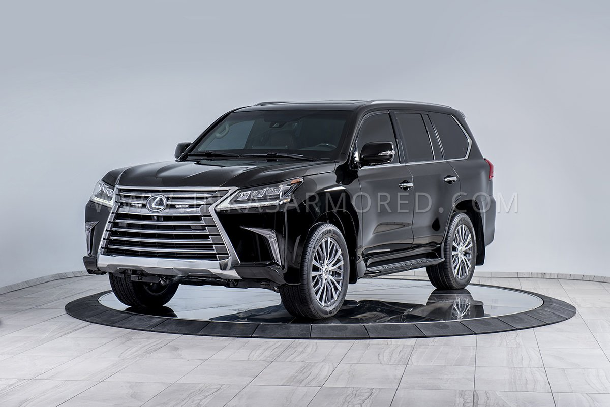 Armored Lexus Lx 570 For Sale Inkas Armored Vehicles
