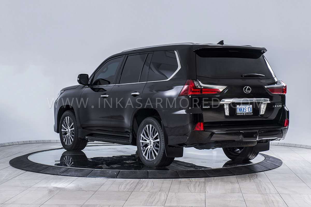 Armored Lexus Lx 570 For Sale Inkas Armored Vehicles Bulletproof