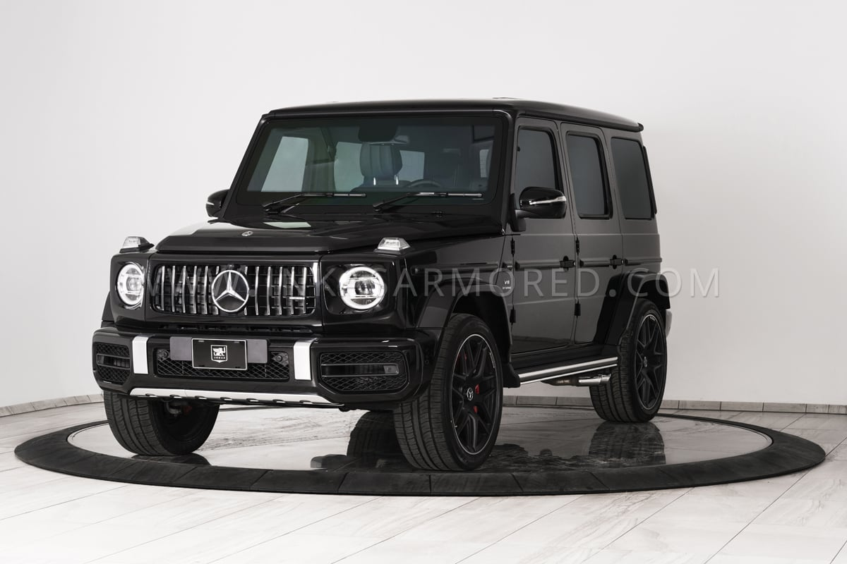 Blacked Out 4Runner >> Armored G-Wagon For Sale | Mercedes-Benz G63 AMG, G-Class ...