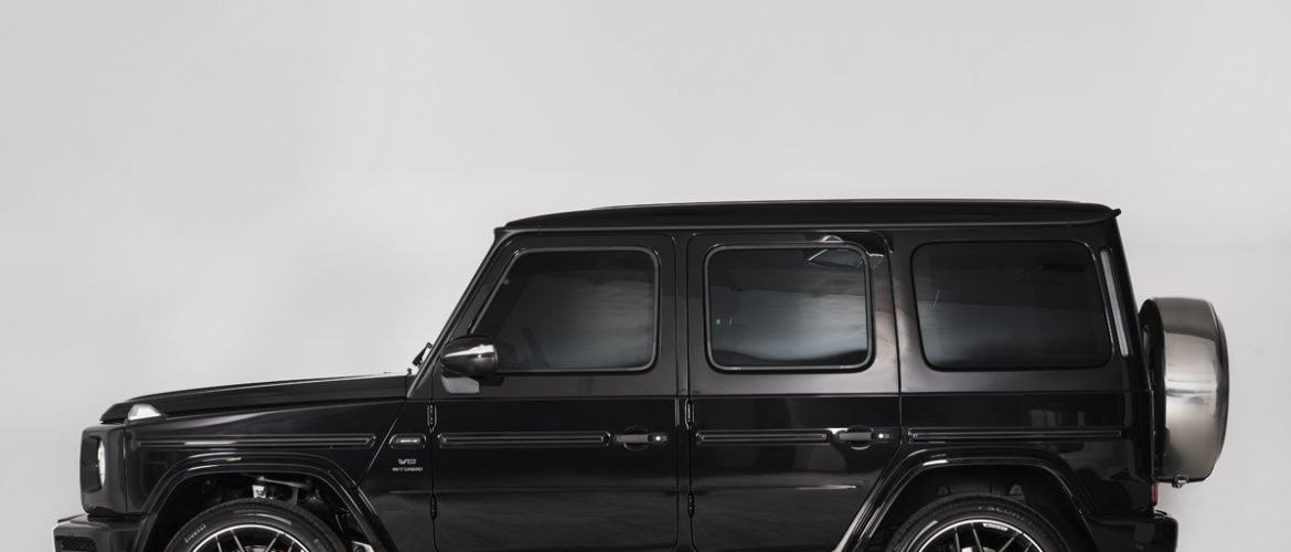 The Exclusive 2019 Mercedes-Benz G63 AMG: Fully Armored | INKAS