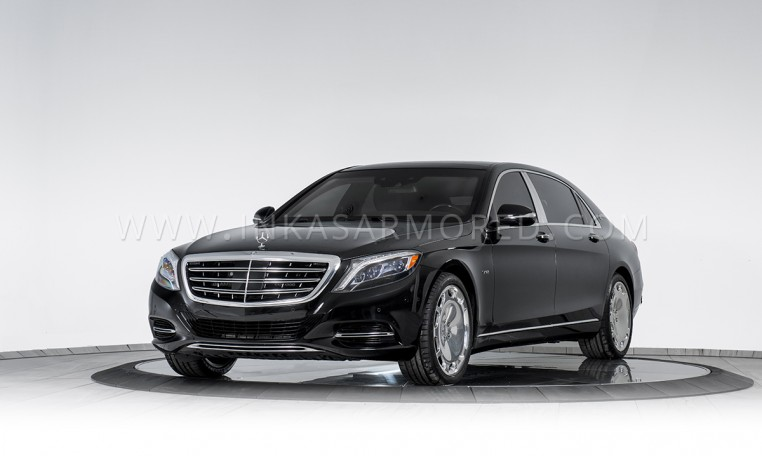 INKAS Armored Sedan 2016 Maybach S600