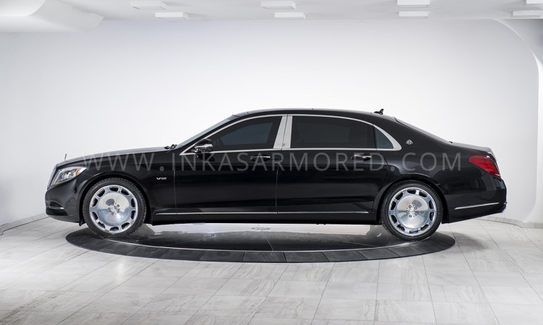 INKAS Armored Sedan Maybach S600
