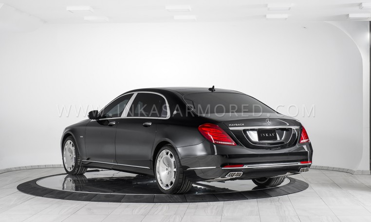 Armored Sedan based on Mercedes-Benz Maybach S600