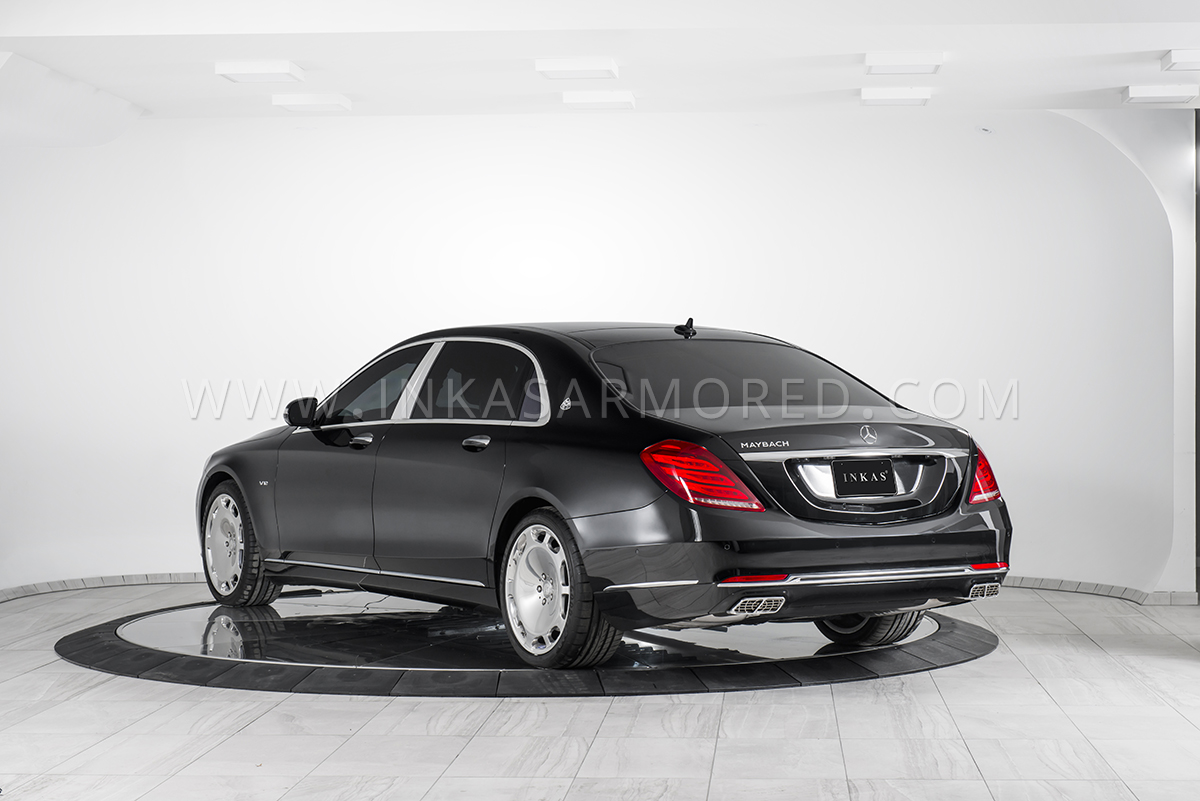 armored mercedes-maybach s600 for sale - inkas armored vehicles