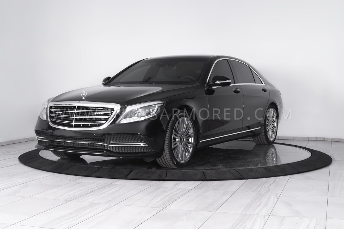 Bulletproof Cars: Armored Mercedes-Benz S550 For Sale