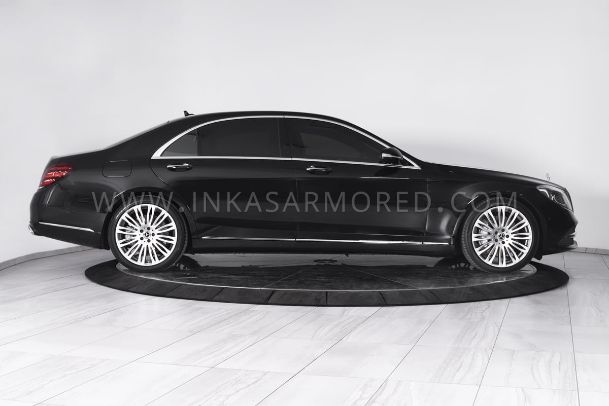 Armored Mercedes-Benz S550 For Sale - INKAS Armored Vehicles