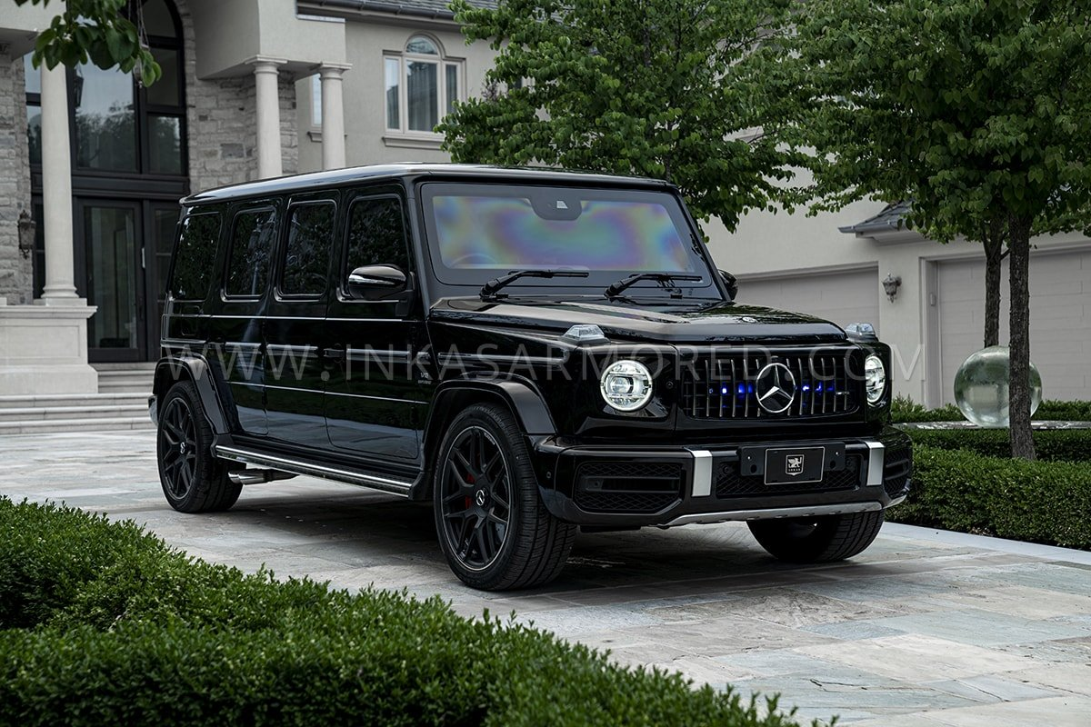 Bulletproof Mercedes Benz G Wagon G63 Limo For Sale Inkas Armored