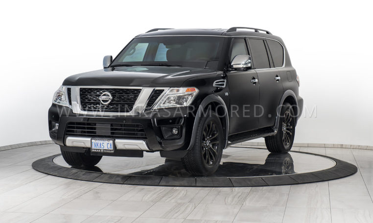 INKAS Armored SUV based on Nissan Armada