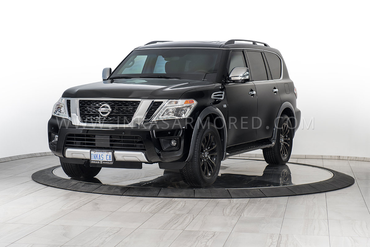 armored nissan armada for sale inkas armored vehicles bulletproof cars special purpose vehicles. Black Bedroom Furniture Sets. Home Design Ideas