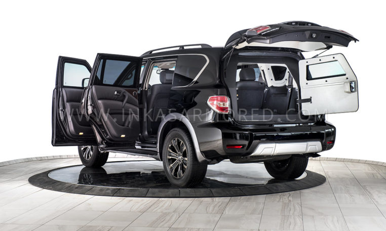 Nissan Armada Bulletproof SUV