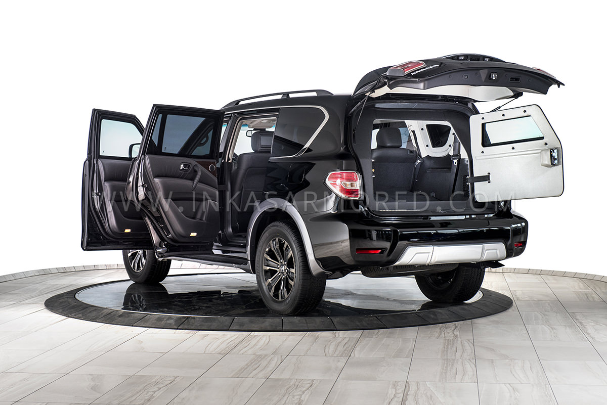 96987830b0a0 Armored Nissan Armada For Sale - INKAS Armored Vehicles