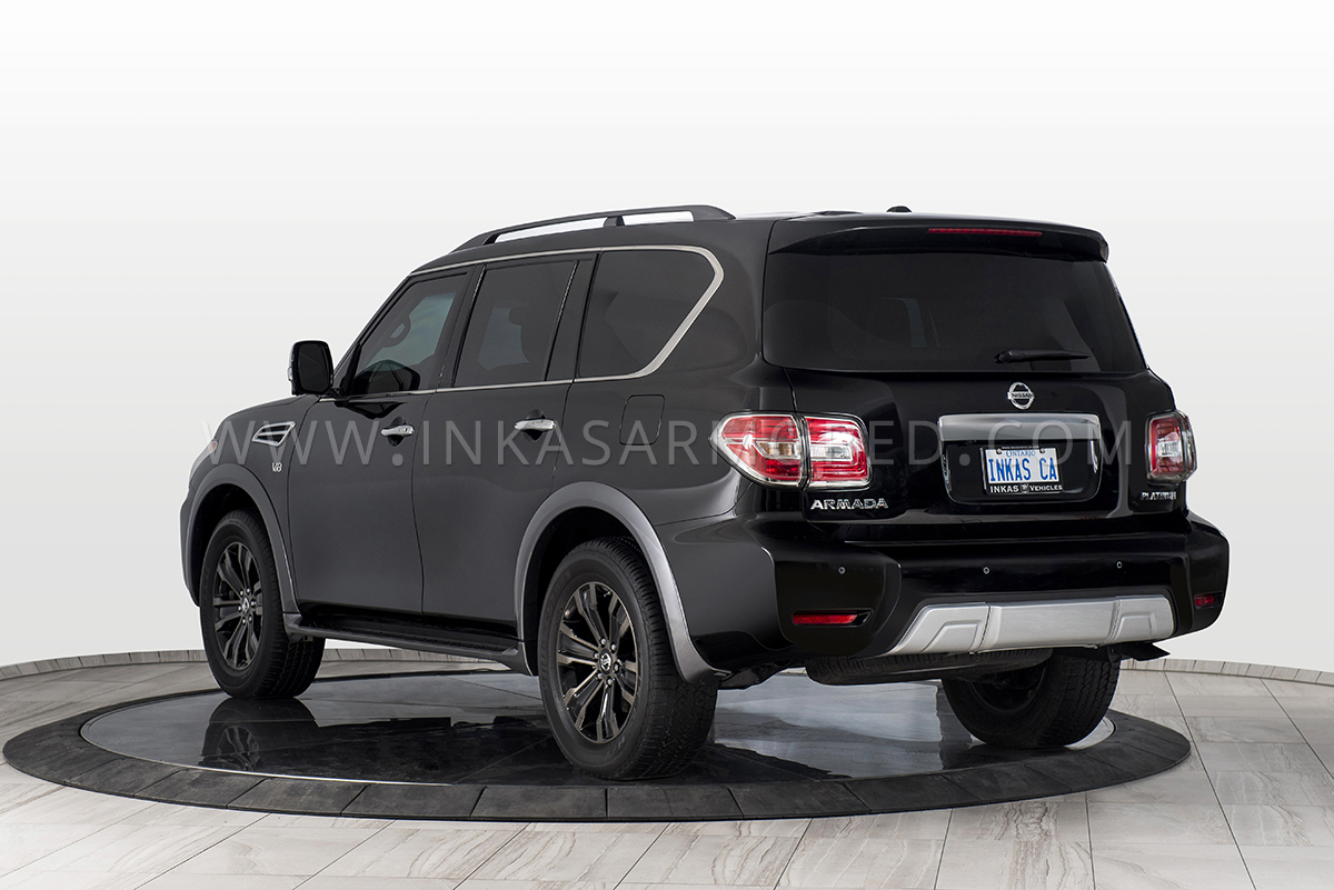 Armored Nissan Armada For Sale - INKAS Armored Vehicles