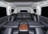 Armored Nissan Armada Folding Seats