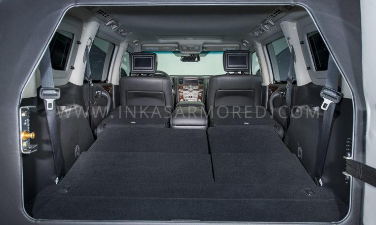 INKAS Armored SUV Nissan Armada Interior