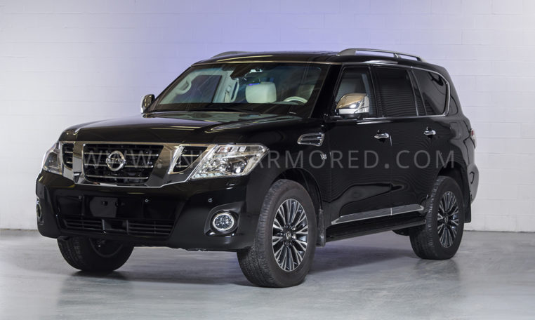 Armored Nissan Patrol For Sale - INKAS Armored Vehicles