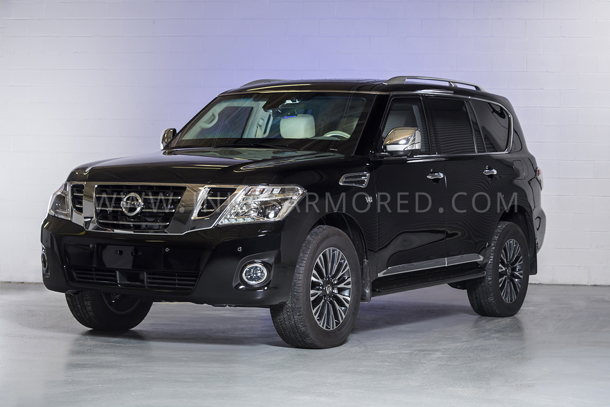 Bulletproof Cars: Armored Nissan Patrol For Sale