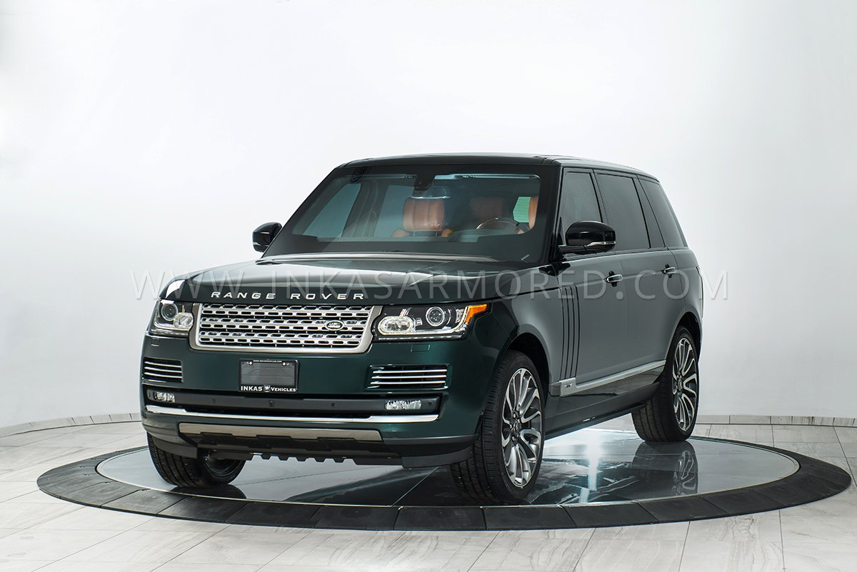 land rover range rover for sale inkas armored vehicles bulletproof cars special purpose vehicles. Black Bedroom Furniture Sets. Home Design Ideas