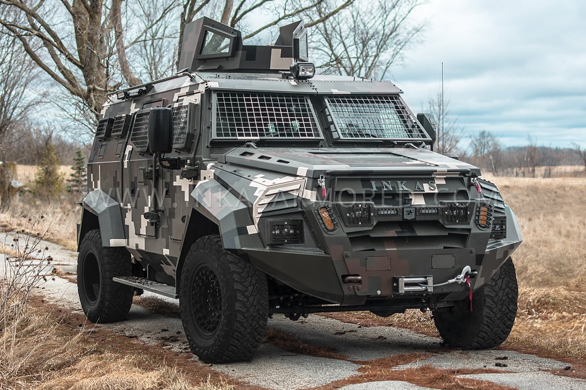 Armored Truck For Sale >> Inkas Sentry Apc Rhd