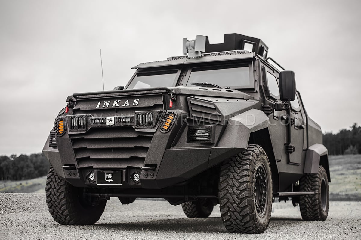 Bulletproof Cars: INKAS® Sentry MPV For Sale