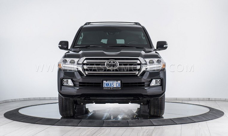 Armored Toyota Land Cruiser SUV