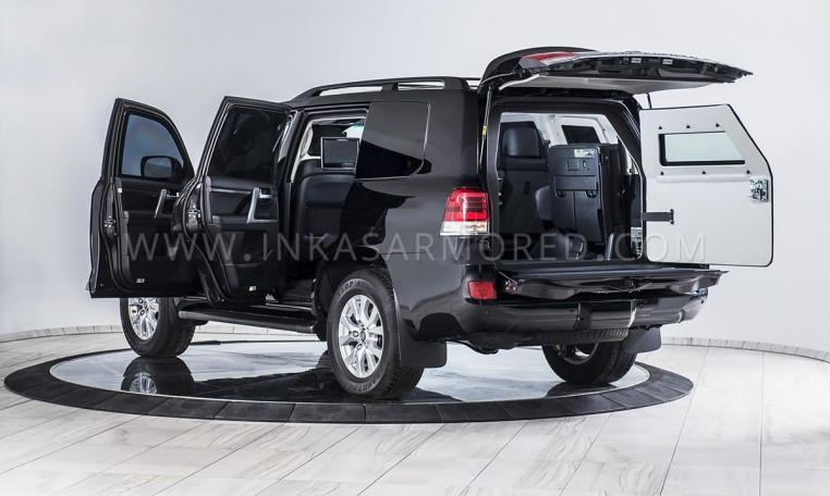 INKAS Armored Toyota Land Cruiser VXR