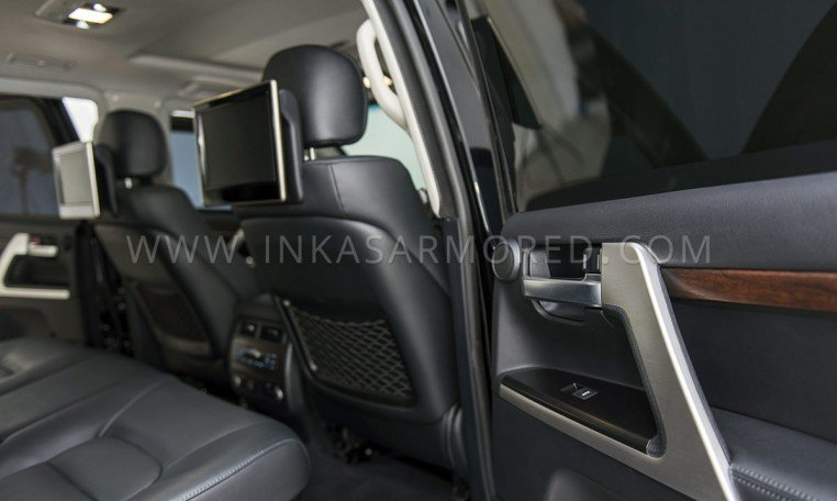 Armored Toyota Land Cruiser Rear Seats