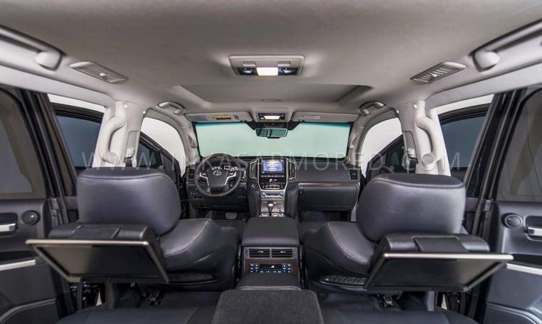 INKAS Armored Toyota Land Cruiser Cabin