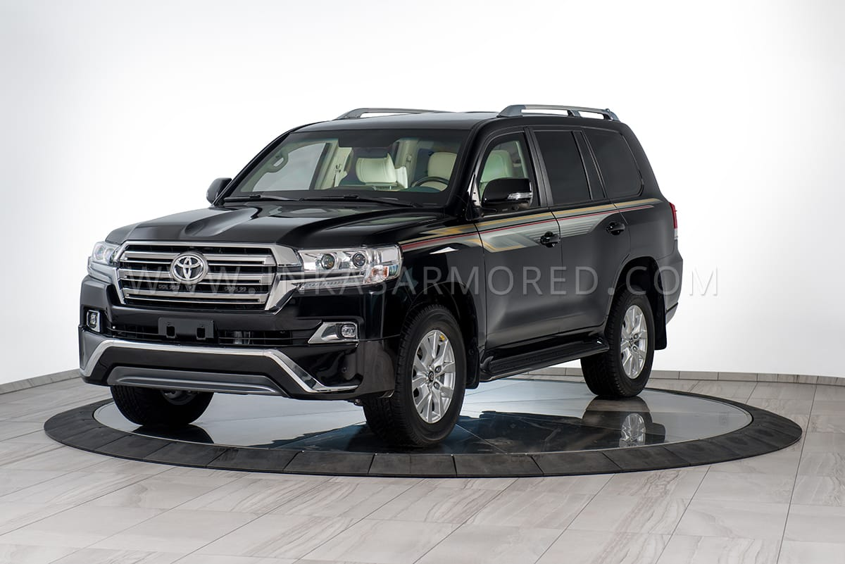 Armored Toyota Land Cruiser GXR For Sale - INKAS Armored ...