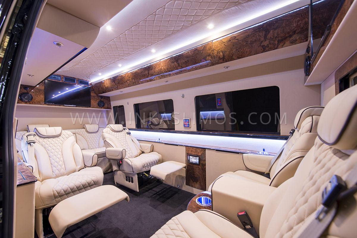 Mercedes Benz Sprinter Armored Limousine For Sale Inkas Armored