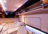 INKAS armored MB Sprinter Limo shelves