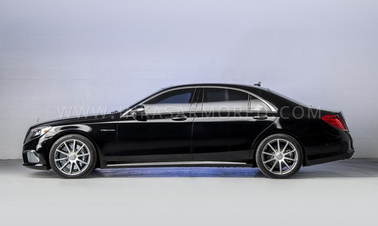 Armored Mercedes-Benz S65 AMG Sedan