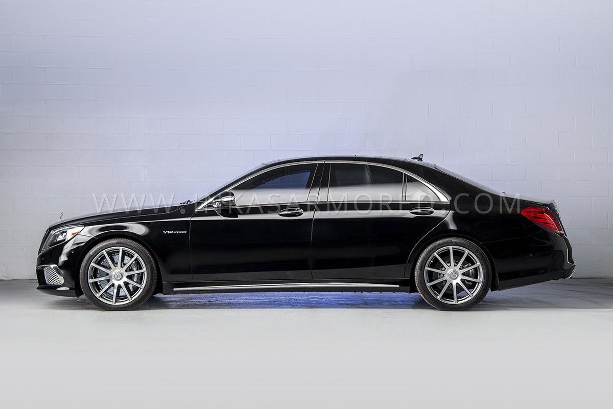 Armored Mercedes Benz S65 Amg Sedan