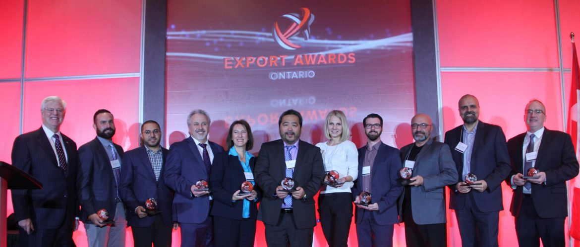 Ontario Export Award winners