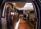 Armored Cadillac Escalade Chairman Package Interior