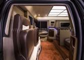 Armored Cadillac Escalade Chairman Package Interior