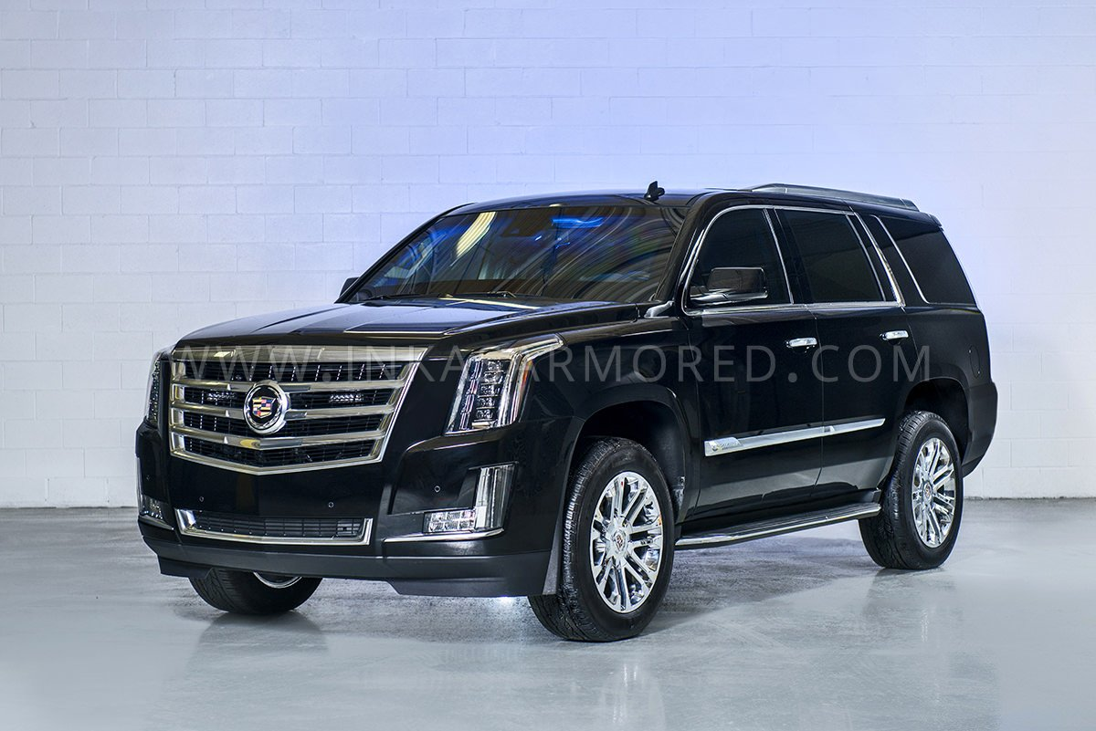 Latest Cadillac Escalade >> Armored Cadillac Escalade For Sale - INKAS Armored Vehicles, Bulletproof Cars, Special Purpose ...