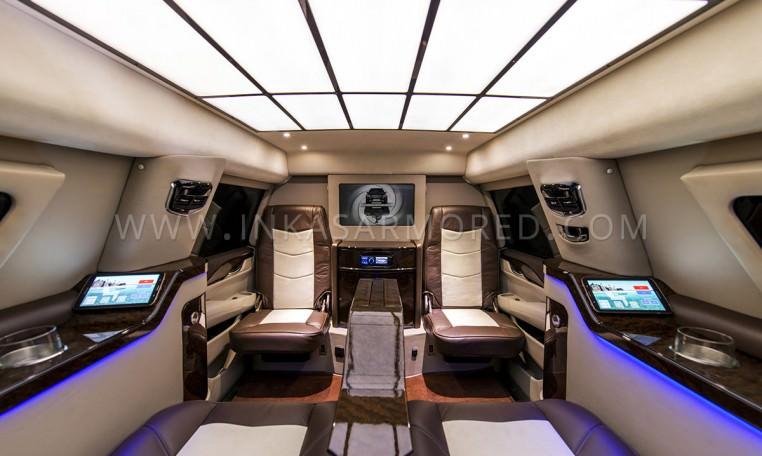 Armored Cadillac Escalade Limousine by INKAS