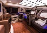 Armored Cadillac Escalade VIP Limo Interior