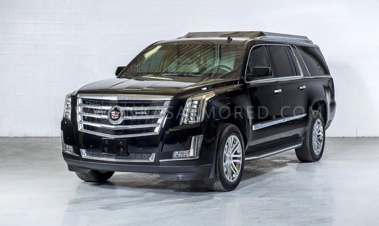 Armored Cadillac Escalade VIP Limousine by INKAS