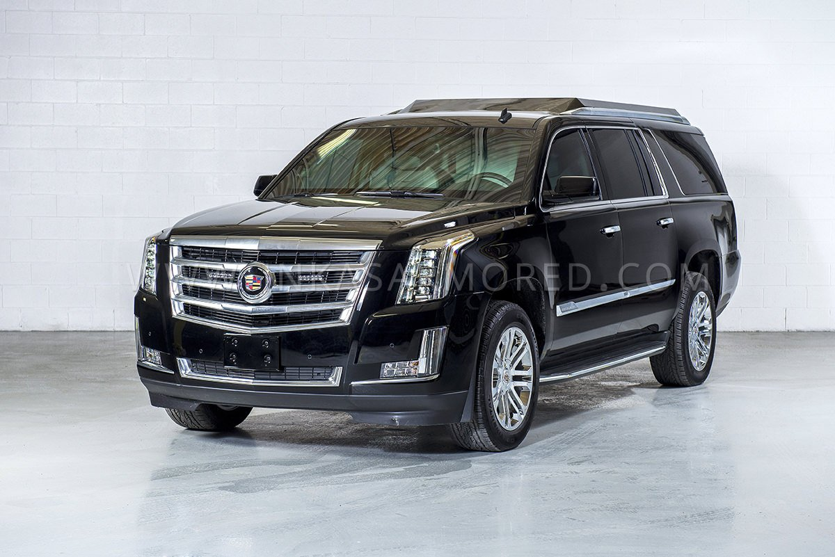 Bulletproof Cars: Cadillac Escalade Armored Limousine For Sale