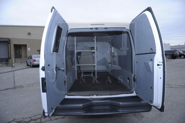 Armored Ford E350 Rear Compartment